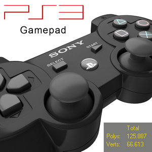 max ps3 gamepad