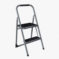 ladder platform 3d model