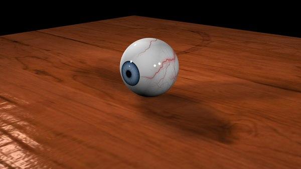eyeball animation scene max free