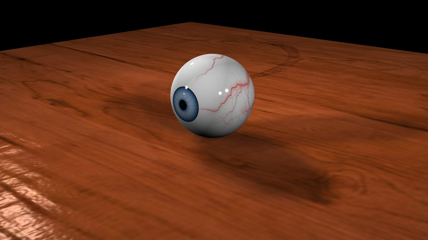 eyeball animation scene max free