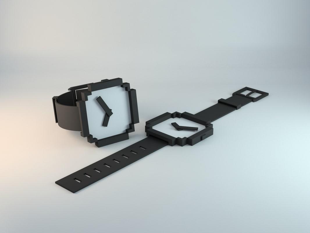 wristwatch minimal designed max