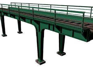 max train bridge highway