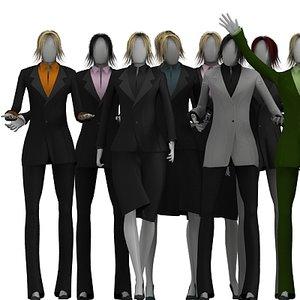 women woman 3d max