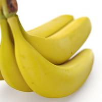 3d banana realistic