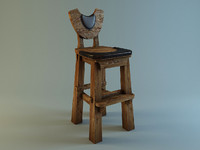 Bar Chair in medieval style