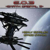orbital station 3 3d model
