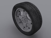 3ds max tire medium