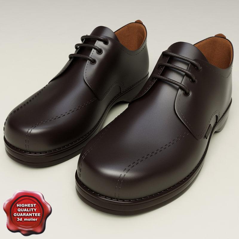 3ds max man shoes v2