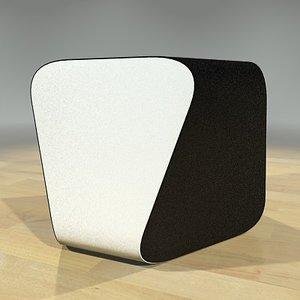 3d mari stool model
