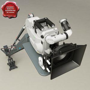3ds operator crane film camera