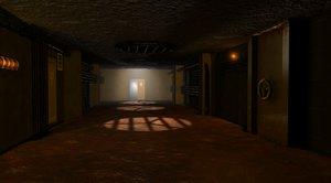 room light doors 3d c4d