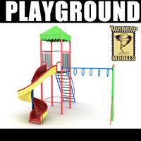 3ds max playground ground