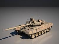 russian tank 3d model