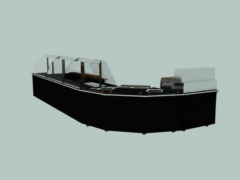 3d model traditional rotisserie