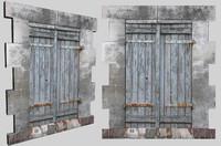 ma old stone window