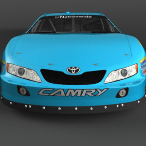 3d model 2007-2010 nascar nationwide series