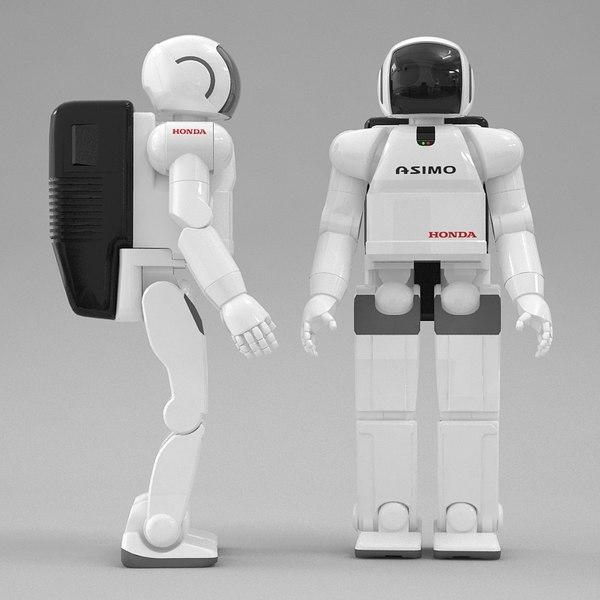 honda asimo robot max