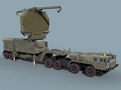 big bird surveillance radar 3d model