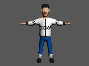 3d male character borys