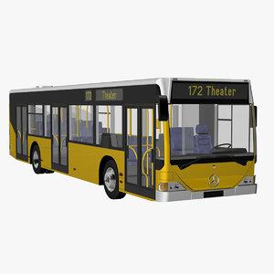 citybus citaro 3d model