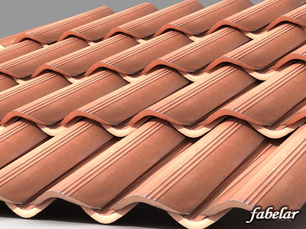 photorealistic roof house 3d model