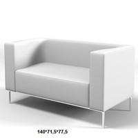 easyline nouveau sofa 3d model