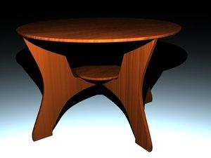 maya table end