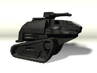 3d model cobra h s tank