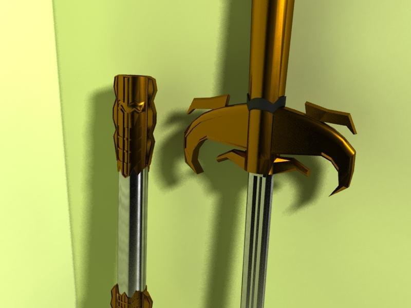 sword sheath 3d model