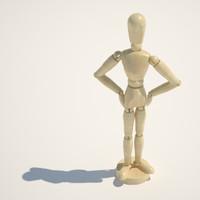 3d mannequin toy