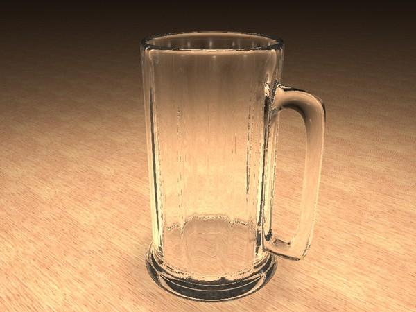 cinema4d beer mug