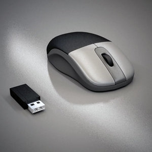 3d generic optical mouse model