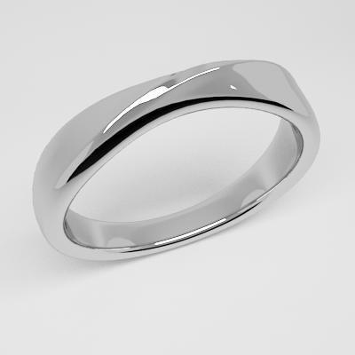 organic design ring 3d model