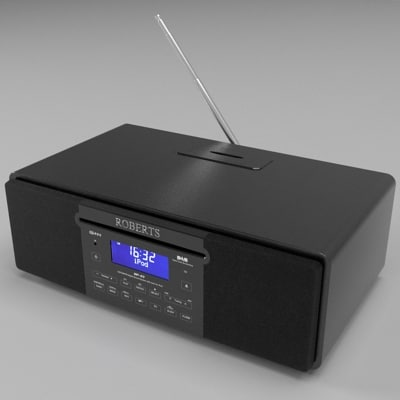 3d roberts radio ipod dock