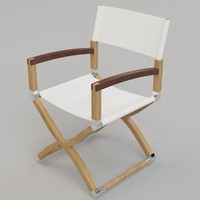 3d glyn peter machin outdoor chair model