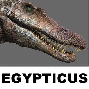 jurassic spinosaur 3d max
