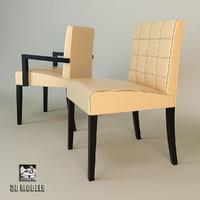 chair spiga 3d ma
