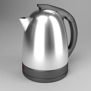 kettle tea-kettle teapot 3d 3ds