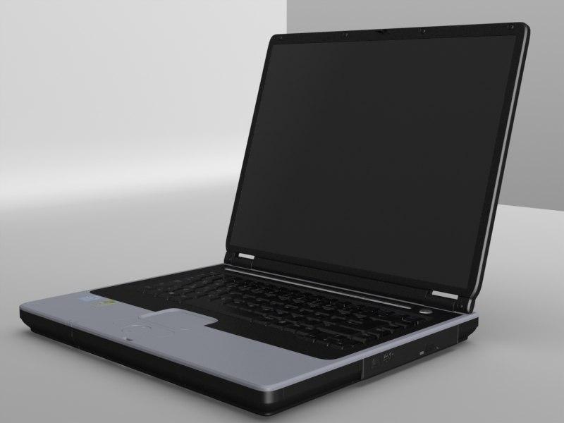 laptop notbook 3d model