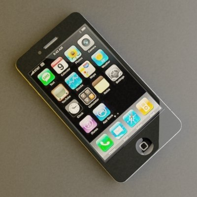 3d model phone 4 g
