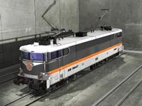 sncf corail locomotive 3d model