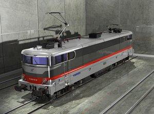 3dsmax sncf multiservices locomotive