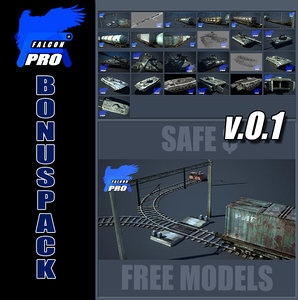 bonus pack v0 train 3d model