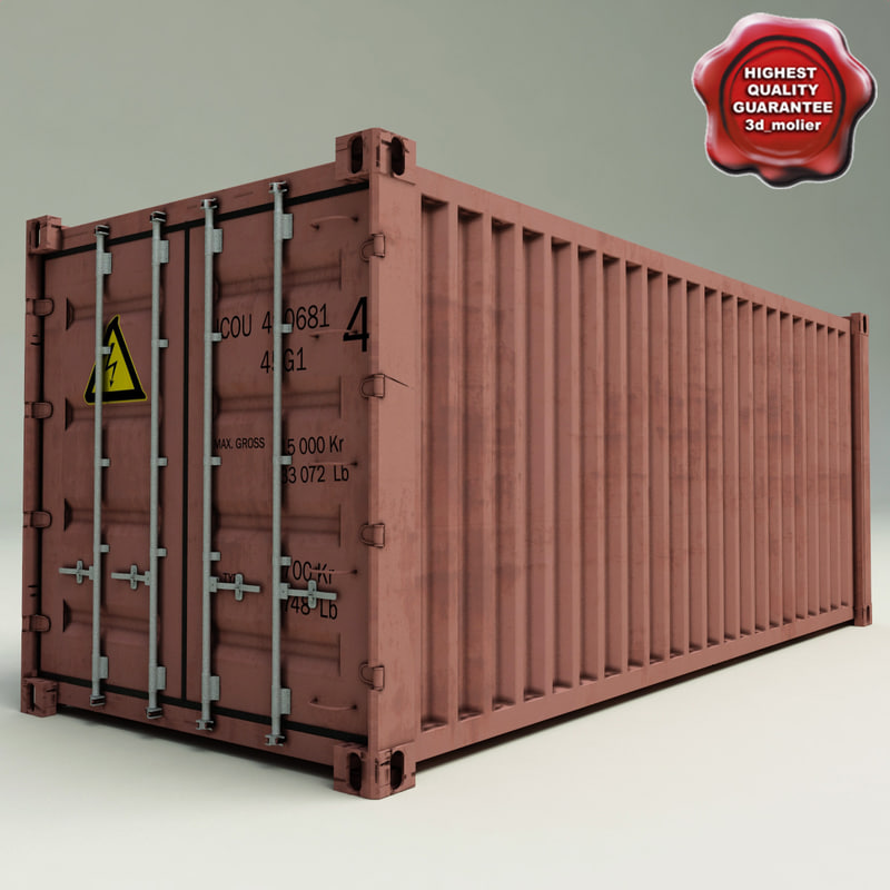 3d container iso