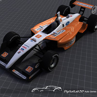 3dsmax champ car vehicle
