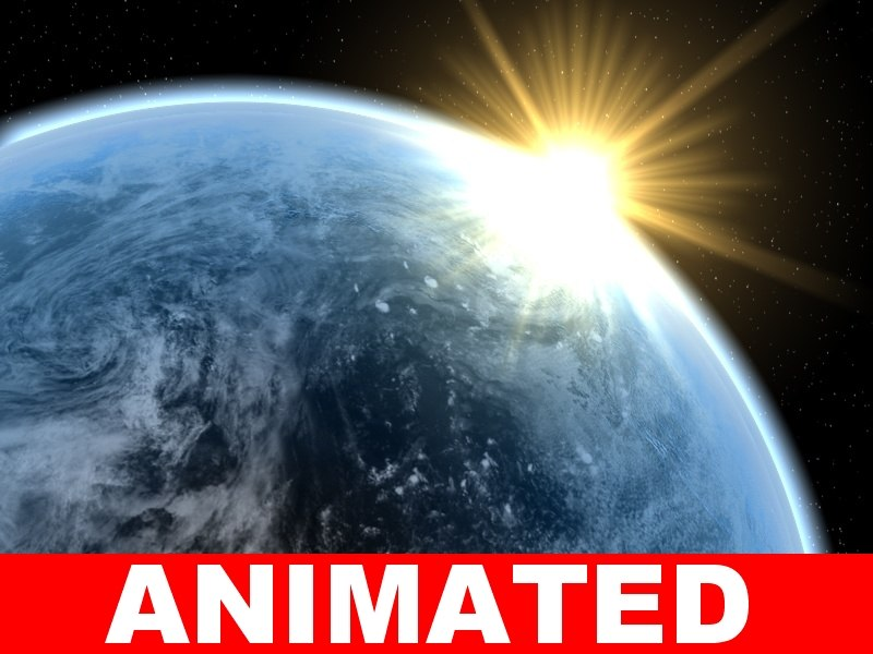 3d c4d earth photo realistic