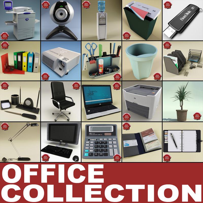 office v2 3d 3ds