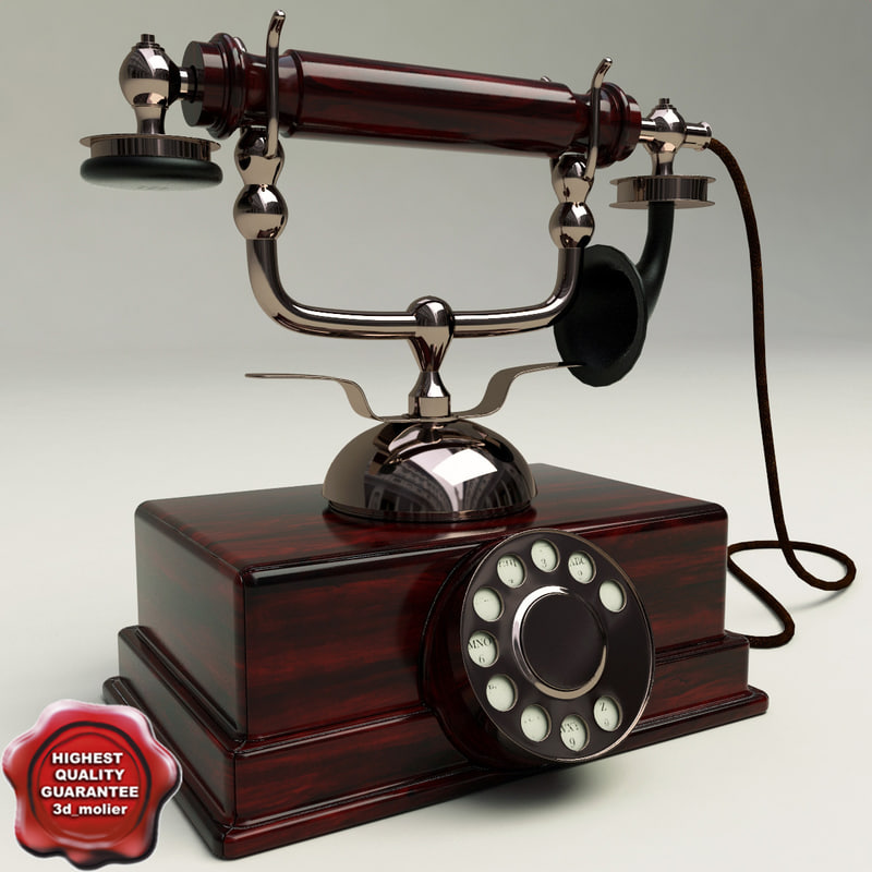 old phone 3d max