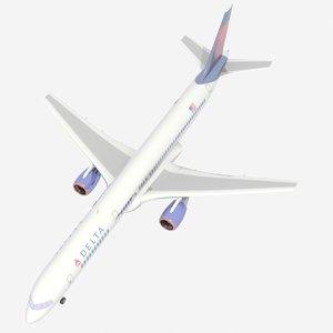 airliner 757 3d model
