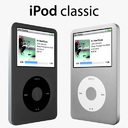 Apple iPod Classic 3D models